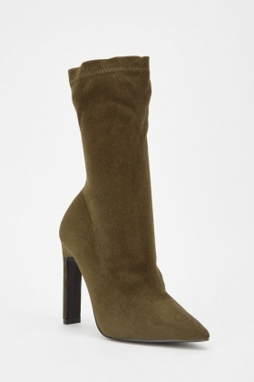 Lost Ink Jacki Stiletto Boots