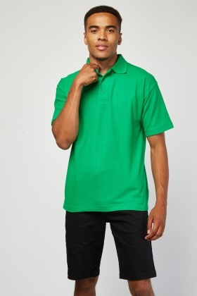 Pack Of 3 Green Polo-Shirts