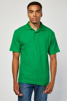 Pack Of 3 Dark Green Polo-Shirts