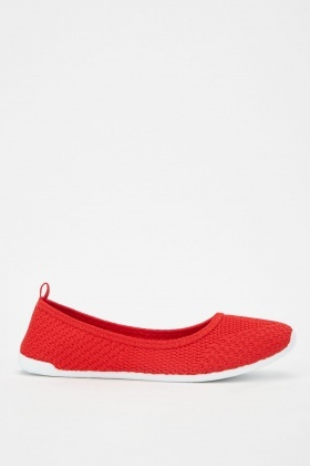 Textured Slip-On Shoes