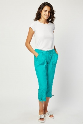 Casual Combat Cropped Trousers