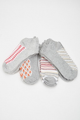 Pack Of 12 Womens Ankle Socks
