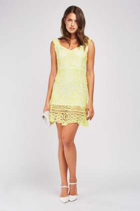 Doile Crochet Pattern Dress
