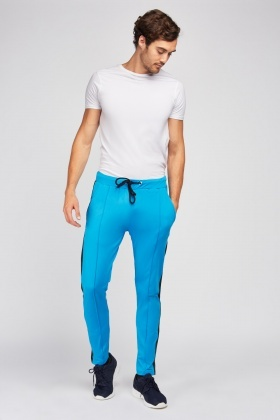 Jogger Pants With Stripe Side