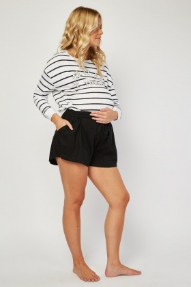 Maternity Wear Casual Shorts
