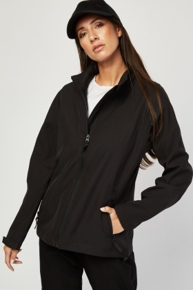 Textured Zipper Jacket