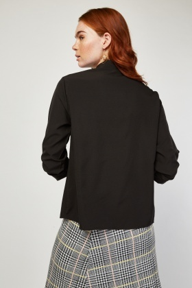 Military Button Front Shirt