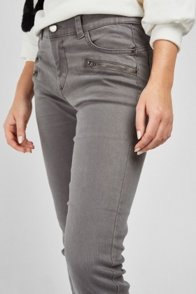 Low Waist Skinny Push Up Jeans