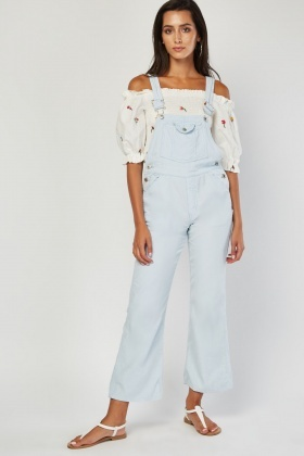 Sky Blue Dungarees