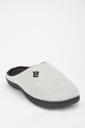 Slip On Speckled Men's Slippers
