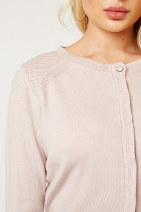 Textured Fine Knit Cardigan