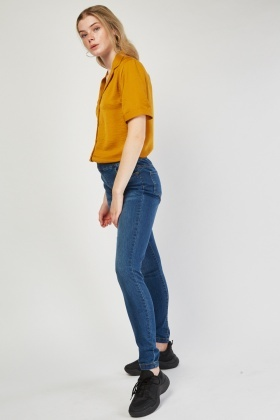 Mid Rise Slim Fit Jeggings