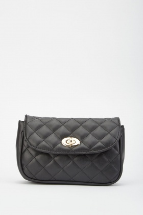 Quilted Belt Chain Bag