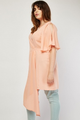 Gathered Asymmetric Front Top