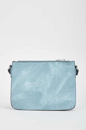 Faded Print Shoulder Bag
