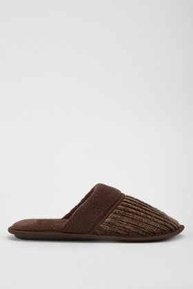 Mens Fluffy Slippers