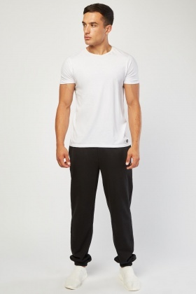 Casual Elasticated Ankle Joggers