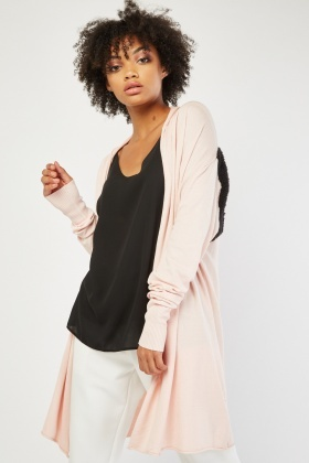 Center Back Borge Panel Cardigan