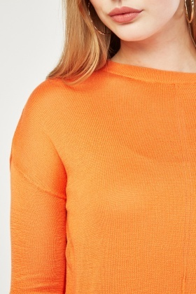 Long Sleeve Knitted Jumper