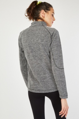 Zip Poly Fleece Jacket