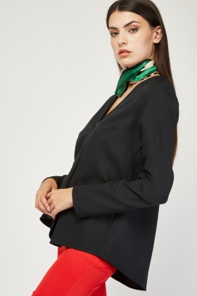 Single Pleat Front Blouse