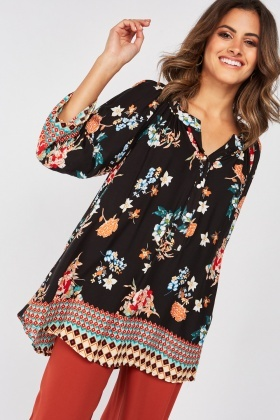 Mix Printed Blouse