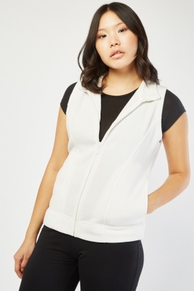 Sleeveless Poly-Fleece Jacket
