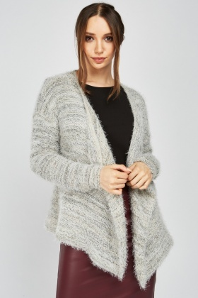 Speckled Eyelash Cardigan
