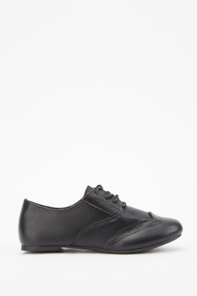 Black Brogue Shoes