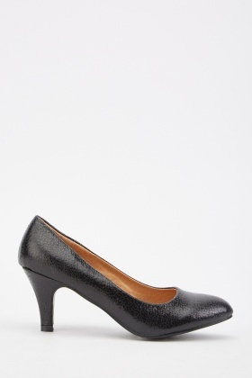 Low Heel Court Shoes