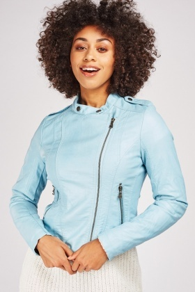 Neoprene Sky Blue Jacket
