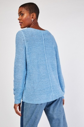 Sheer Knitted Jumper