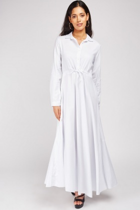 white maxi shirt Shop Clothing & Shoes Online