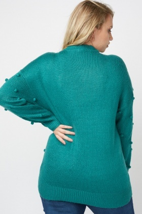 Bobble Textured Knit Jumper