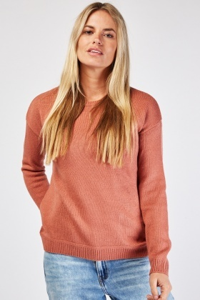 Long Sleeve Knit Jumper