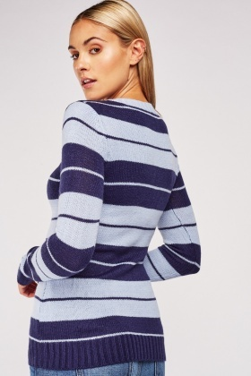 Pouch Pocket Knit Jumper