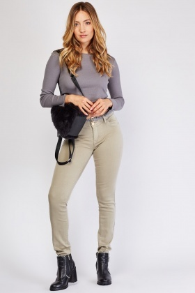 Skiiny Fit Chino Trousers