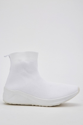 Chunky Sole Sock Trainers