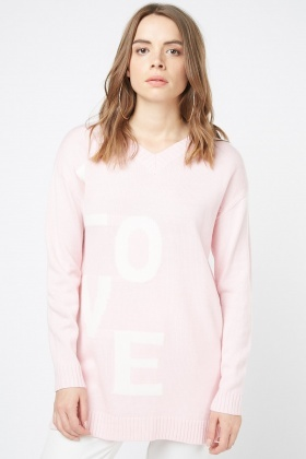 Love Letter Knit Jumper