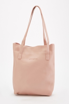 3-In-1 Textured Tote Bag