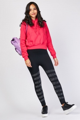 Encrusted Super Stretchy Leggings