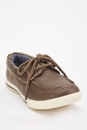 Top Stitched Loafers