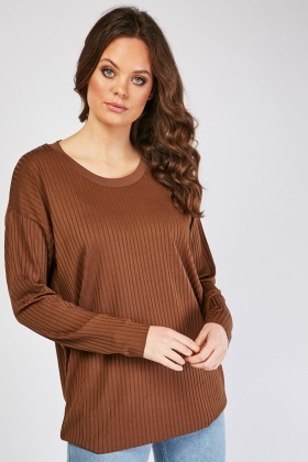 Super Stretchy Ribbed Top