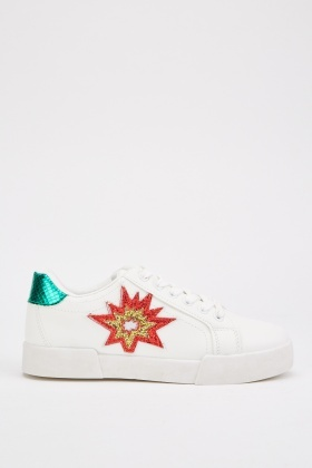 Applique Side Platform Trainers