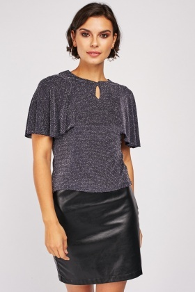 Lurex Flared Top