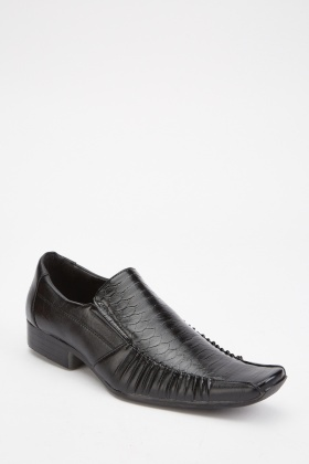 Mens Mock Croc Shoes