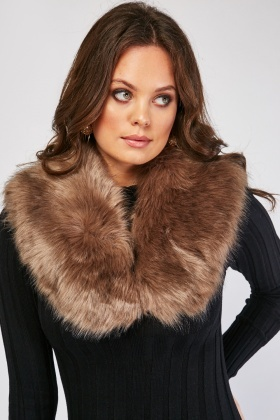 Fluffy Fur Scarf