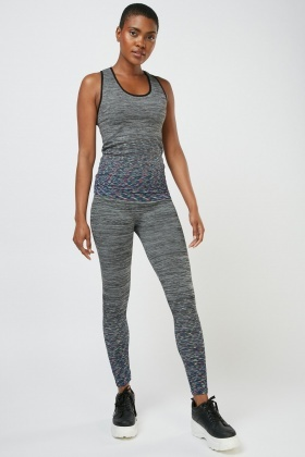 Speckled Seamless Sportswear Co-ord