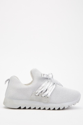 Lurex Low Top Trainers