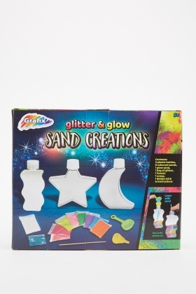Glitter And Glow Sand Creations